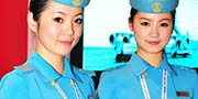 China aero expo flight attendant